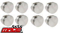 SET OF 8 MACE PISTONS FOR FORD FAIRMONT XD XE CLEVELAND 302 351 4.9L 5.8L V8