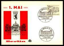 BERLIN 1969 REICHSTAG 1. MAI ARCHITEKTUR ARCHITECTURE ap88
