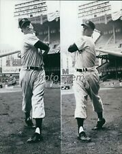 Switch-Hitting Rookie Mickey Mantle High Quality 11x14 Archival Photo