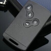 Remote Smart Card Shell fit for RENAULT Laguna SmartCard 4 Button Case