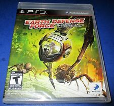 Earth Defense Force: Insect Armageddon Sony PlayStation 3 *New-Sealed-Free Ship!