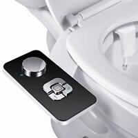 Bidet Attachment - SAMODRA Non-Electric Cold Water Bidet Toilet Seat Attachment
