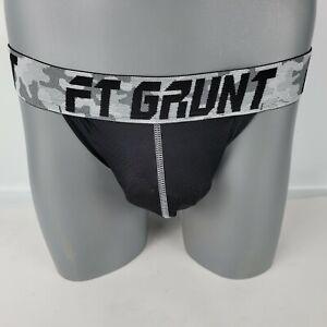 "FORT TROFF - ""Grunt"" Gray Camo Jockstrap  Size Large"