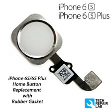 NEW iPhone 6S Plus Complete Home Button Flex Cable Replacement - Silver/White