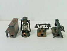 Vintage collectible  Set of 4 Diecast pencil sharpeners