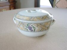 """Royal Worcester Country Garden Covered Serving Dish 8"""" England 1996 Porcelain"""