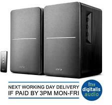 Edifier Black R1280T Active 2.0 Bookshelf Studio Speakers for TV/MAC/PC/Laptop