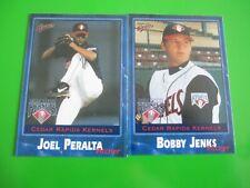 JOEL PERALTA + BOBBY JENKS - 2001 Cedar Rapids Kernels set