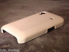 SAMSUNG GALAXY ACE / S5830 WHITE REPTILE/SNAKE SKIN STYLE CASE