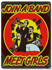MUSIC STUDIO metal SIGN VINTAGE style boys room great gift funny wall decor 053
