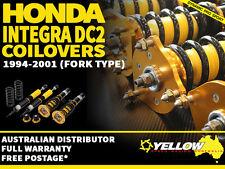 YELLOW-SPEED RACING COILOVERS Honda Integra DC2 TYPE-R 94-01 (FORK) yellowspeed