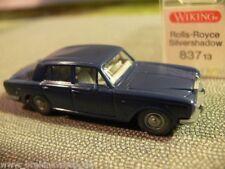 1/87 wiking rolls-royce silver shadow bleu 837 3 a