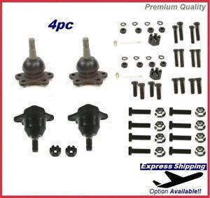Premium Ball Joint SET Upper + Lower For GMC K1500 Blazer 4WD Kit K6292 K6291