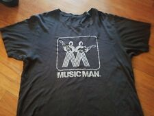 MUSIC MAN VINTAGE 70S TEE SHIRT RARE ORIGINAL STINGRAY BASS ROCK INDIE PUNK XL