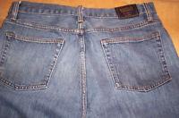 New Brooks Brothers 901 Slim Straight 34 32 Medium Wash Red Fleece $59Jeans NWOT