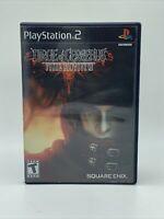 Dirge of Cerberus: Final Fantasy VII PS2 FF7 PS2 Game & Box Very Good
