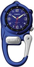 Dakota Mini Clip Microlight Watch Blue Aluminum Stainless Water Resistant  3808