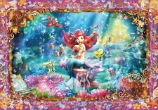 Disney Little Mermaid Ariel Plastic Stained Art Jigsaw Puzzle 500 Pieces