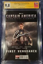 Captain America: First Vengeance 2 CGC 9.8. Signed by Chris Evans 04/06/2021