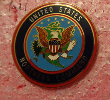 UNITED STATES NORTHERN COMMAND,STAFF ID BREAST BADGE