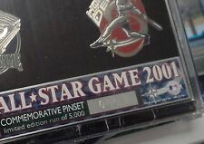 2001 ALL STAR GAME Commemorative Pin set #0001/5000 Limited Edition run of 5000