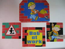 Bob the Builder Fabric Iron Ons Appliques  (style #11)