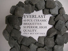 CERAMIC BRIQUETTES ROCKS XX HEAVY DUTY COMMERCIAL BBQ FITS MAGIKITCH'N BROILER