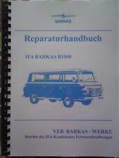 B1000 Reparaturhandbuch IFA BARKAS B 1000 NVA W50 L60 Wartburg