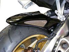 Honda CBR1000RR 08-16 (ABS) Rear Hugger Gloss Black Silver Mesh - Powerbronze