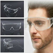 MDWckies Safety Glasses Work Goggles Anti Fog Eye Protection Lab PPE Clear clear
