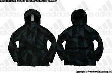 adidas Originals Snowboarding Women's Access 2L Jacket(M)Black/Multi ColorF95817