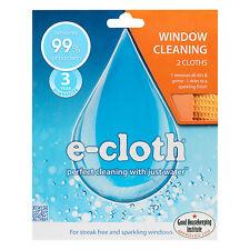 E-cloth ventana y limpieza de vidrio pulido Pack - 2 Paños-libre de envío