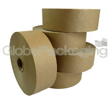 1 x ROLL OF PLAIN STRONG GUMMED PAPER WATER ACTIVATED TAPE 48mm x 200M, 60GSM