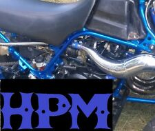 HPM Banshee 2 Ply High Temp Exhaust Clamps BLUE