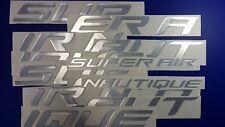"Super Air Nautique boat Emblem 100"" + FREE FAST delivery DHL express"