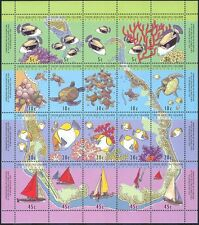 Cocos (Keeling) 1994 Turtles/Fish/Coral Reef/Boats/Marine/Nature 20v sht (b5601)