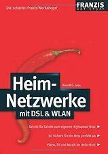 Heim-Netzwerke mit DSL & WLAN von Glos, Rudolf G.   Buch   Zustand gut