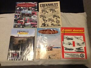 Cockshutt Quarterly Magazine 5 copies sold as a lot Cockshutt Tractors.