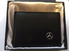 Mercedes Benz Leather Car Drivers License Business Credits Card Wallet Holder