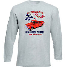 VINTAGE AMERICAN CAR CHEVROLET APACHE PICK UP - NEW COTTON T-SHIRT