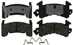 Disc Brake Pad Set-Semi-Metallic Front,Rear ACDelco Pro Brakes 17D154MH