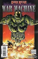 1:10 variant WARMACHINE #1 dark reign IRON MAN GREG PAK MARVEL COMIC 1st print