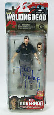 Walking Dead Todd McFarlane Signed Autographed Figure Series 4 - The Governor