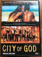 CITY OF GOD ~ Fernando Meirelles 2002 Brazilian Crime / Gang Drama   Thai R3 DVD