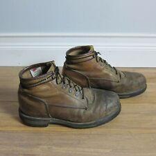 "Men's Red Wing Sz ~10 6"" ANSI Z41 PT91 MI/75 C/75 Steel Toe Work Boots"