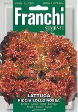 Franchi Seeds Lettuce Lattuga Riccia Lollo Rossa seed