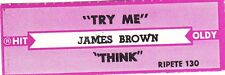 Juke Box Strip James Brown - Try Me / Think
