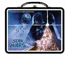 Star Wars Tin Tote or Lunchbox New Hope Embossed