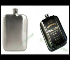 """STAINLESS STEEL """" PERFECT POCKET SIZE """" FLASK 5.6 oz"""