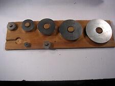 Brown Amp Sharpe Ring Gauge Reference Standard Set 3 To 500 7 Rings